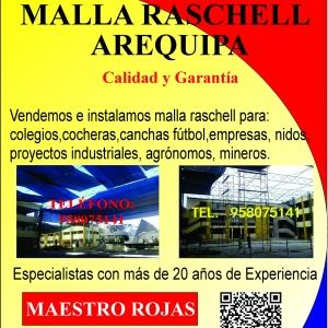 Malla Raschell Arequipa
