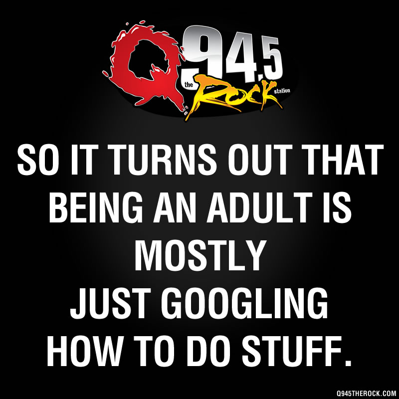 So you just google it?
