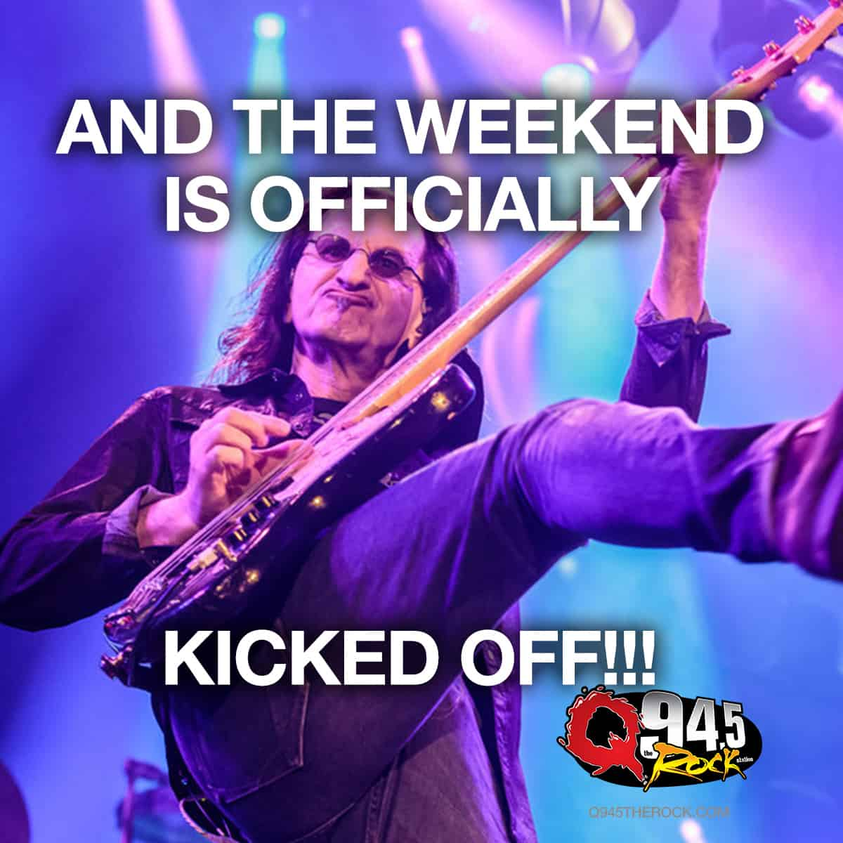 It's here! It's finally here... the Weekend.
