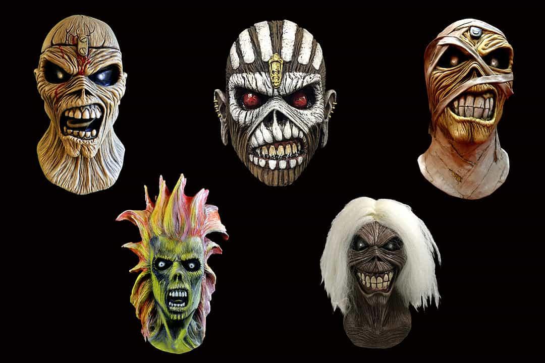 Iron Maiden Announce New Eddie Halloween Masks
