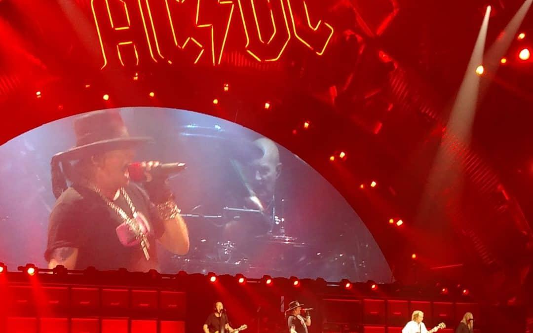 AC/DC Star Addresses Axl Rose Fronted Album Rumors