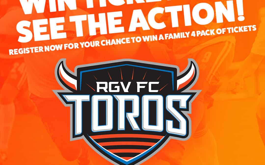 Register for your chance to win a family 4-pack of tickets to see the FC Toros