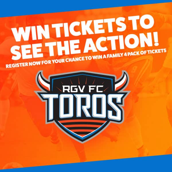 Register to Win Tickets to see the Toros!