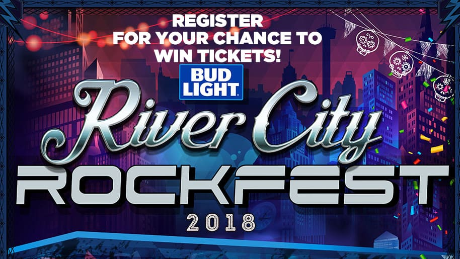 Register to Win Tickets to River City Rock Fest 2018!