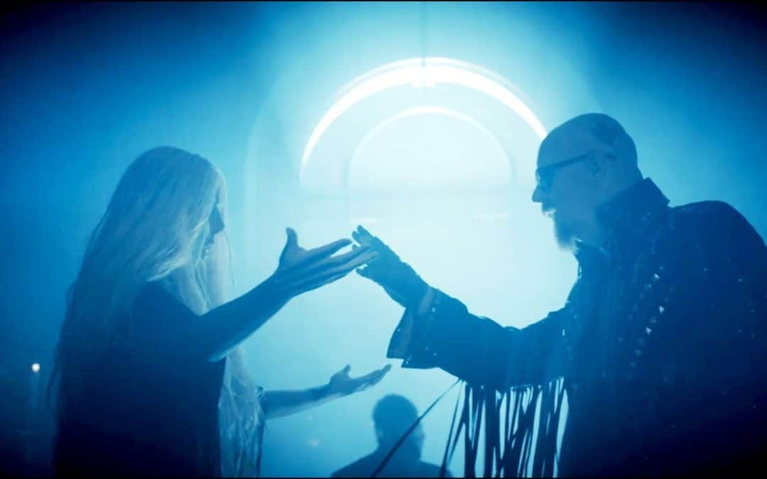 In This Moment And Rob Halford Release 'Black Wedding' Video