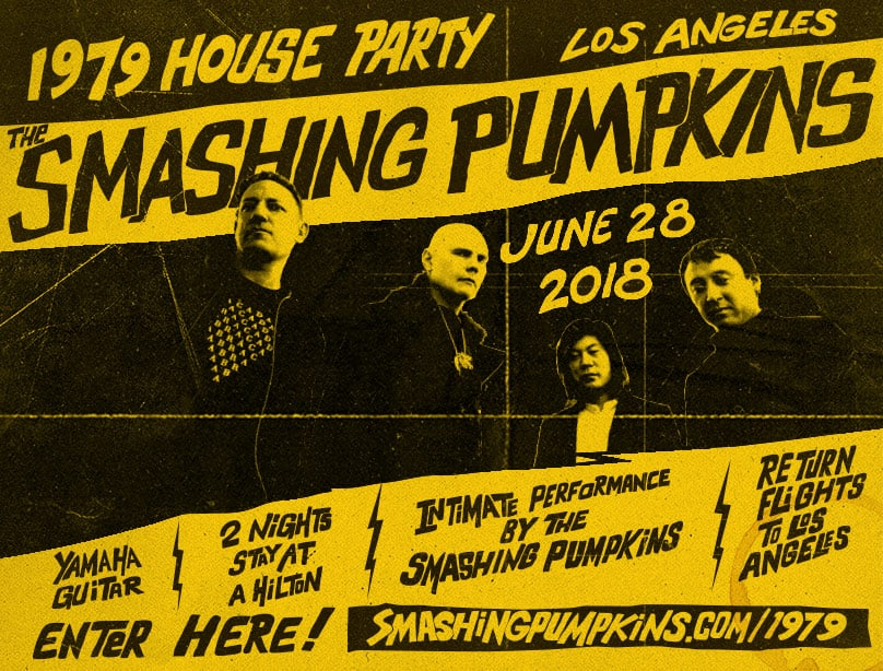 Smashing Pumpkins Plan 1979 House Party