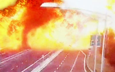 Dramatic Video of a Deadly Truck Explosion in Italy