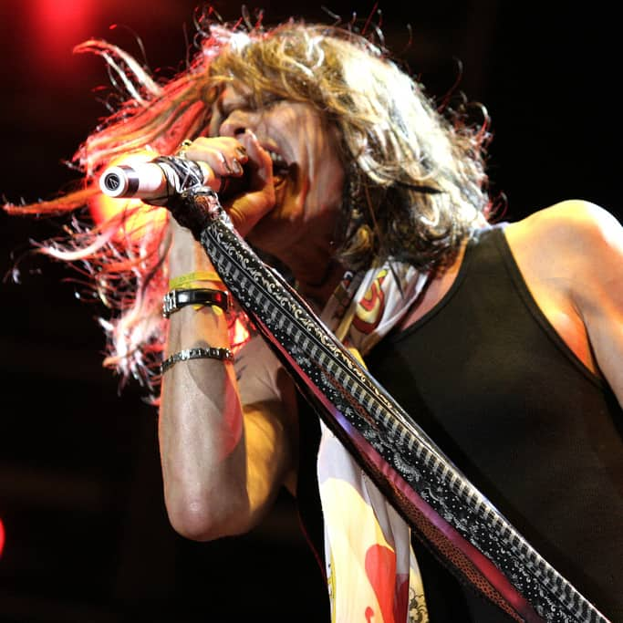 Aerosmith's Steven Tyler Does Not Want to Be in a Selfie with You