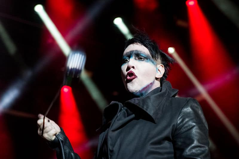 Marilyn Manson Collapsed During a Show Saturday
