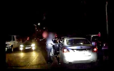WOW: Intense Dashcam Footage of Officer Getting Shot Point-Blank