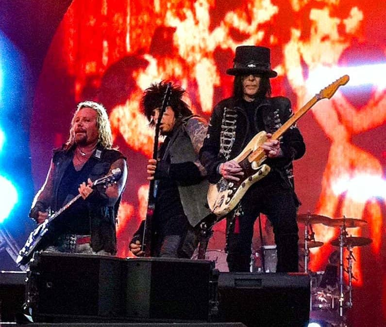 Motley Crue Is Recording Four New Songs