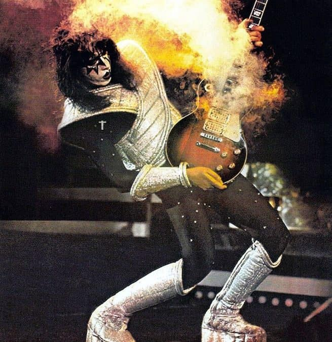 You Can Have Ace Frehley from KISS as the Best Man at Your Wedding . . . For $6,000