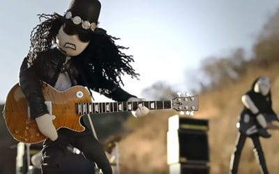 Watch Slash's 'Driving Rain' Animated Live Action Video
