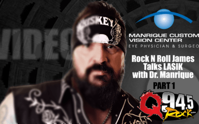 Sponsored Video: Rock and Roll James Discusses the Benefits of LASIK