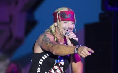"Bret Michaels Says Party Songs Are ""Tough"" to Write"