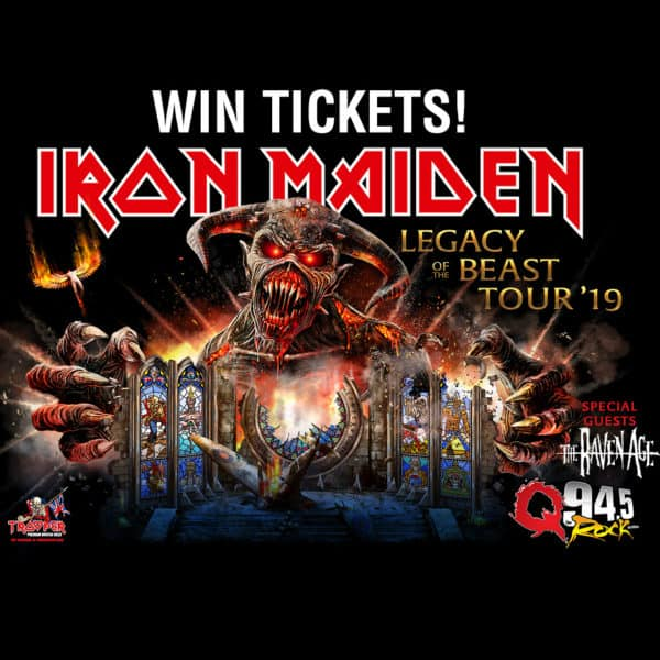 Register for your chance to win tickets to Iron Maiden