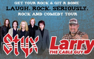 Styx is Touring With . . . Larry the Cable Guy???