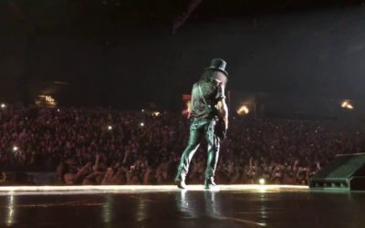 Guns N' Roses Share Video From Recent Shows
