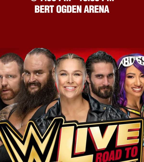 Register for your chance to win tickets to WWE Live! Road to Wrestlemania