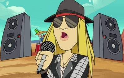 Axl Rose's First Song in 10 Years . . . Is a Collaboration with Looney Tunes?