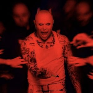 Keith Flint the lead singer of prodigy best known for Firestarter and Breathe