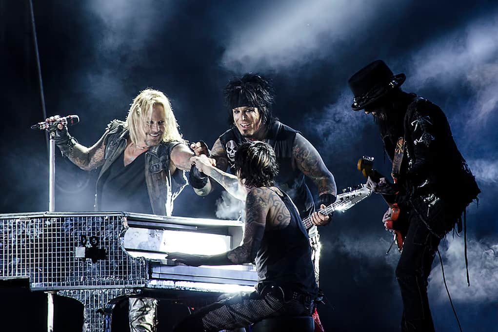 Mötley Crüe Reunited in the studio But Not In Talks For Live Reunion