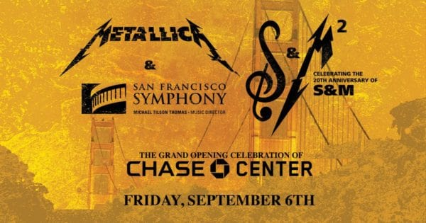 Metallica Is Performing with the San Francisco Symphony… again