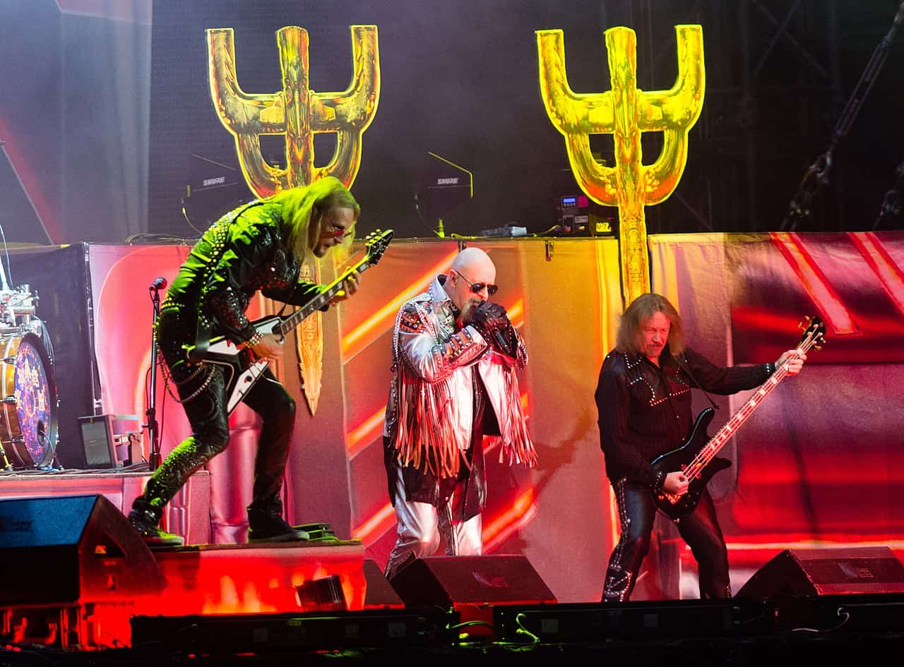 Video: Judas Priest Perform British Steel Rarity At Festival