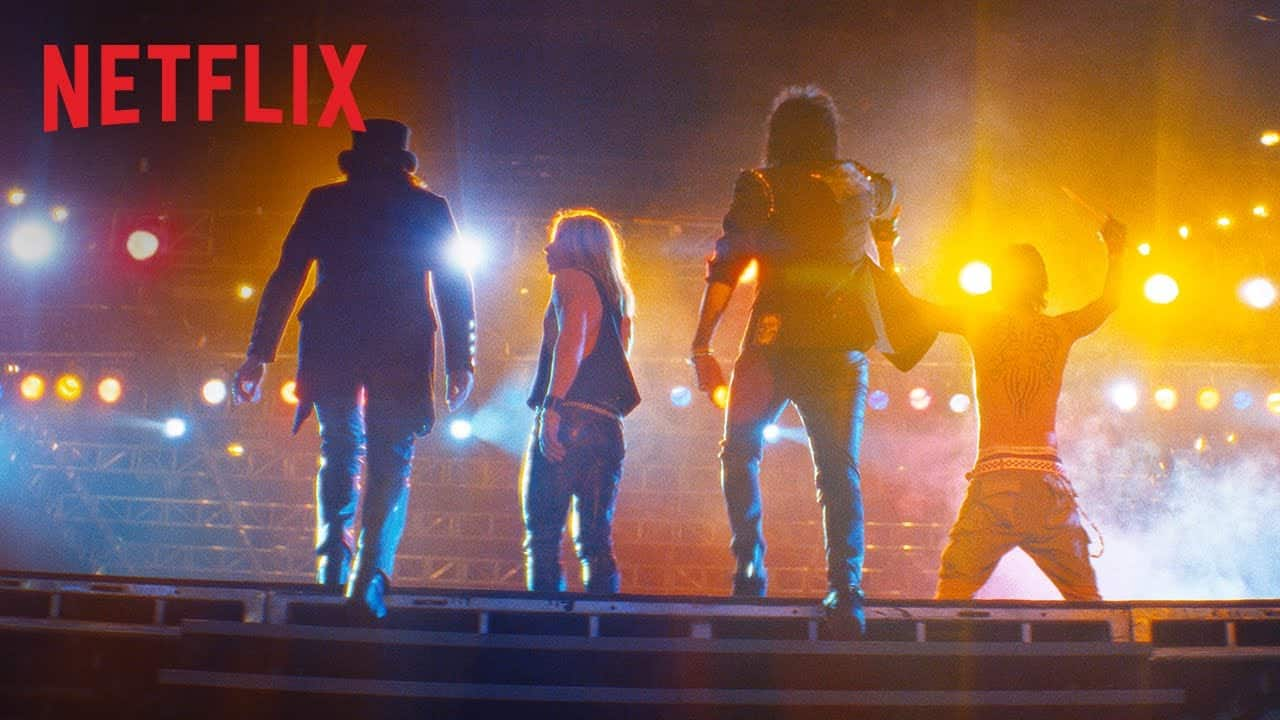 """A Guy Is Suing Mötley Crüe  Because He Was Electrocuted on the Set of """"The Dirt"""""""