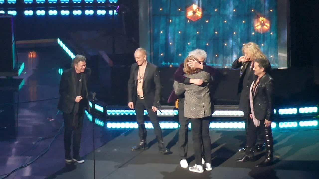Def Leppard Rock And Roll Hall Of Fame : here s what happened at the rock and roll hall of fame induction ceremony ~ Hamham.info Haus und Dekorationen