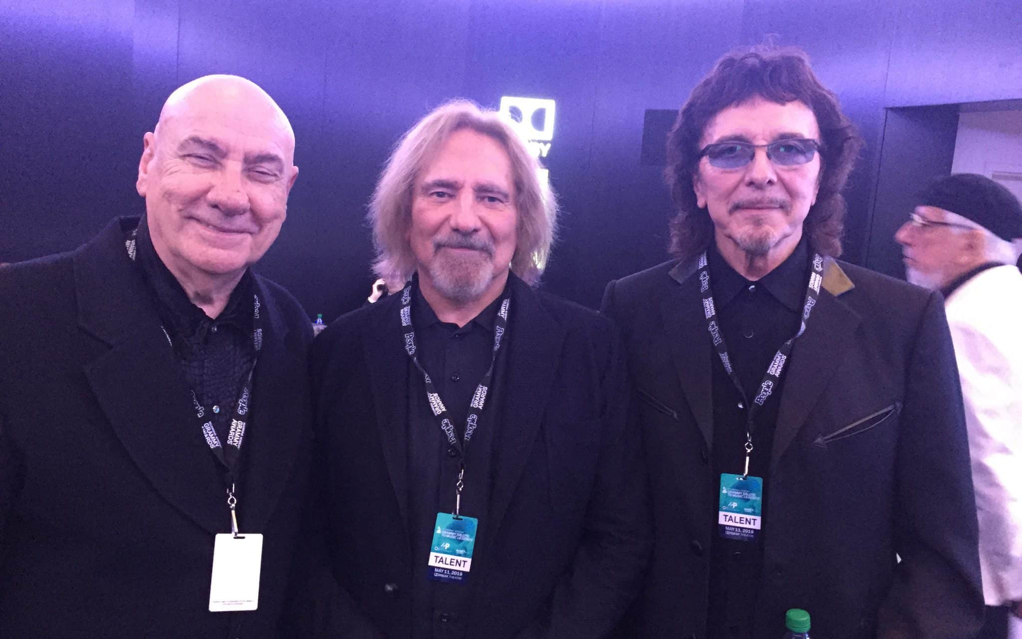 Black Sabbath Members Reunite For Special Honor
