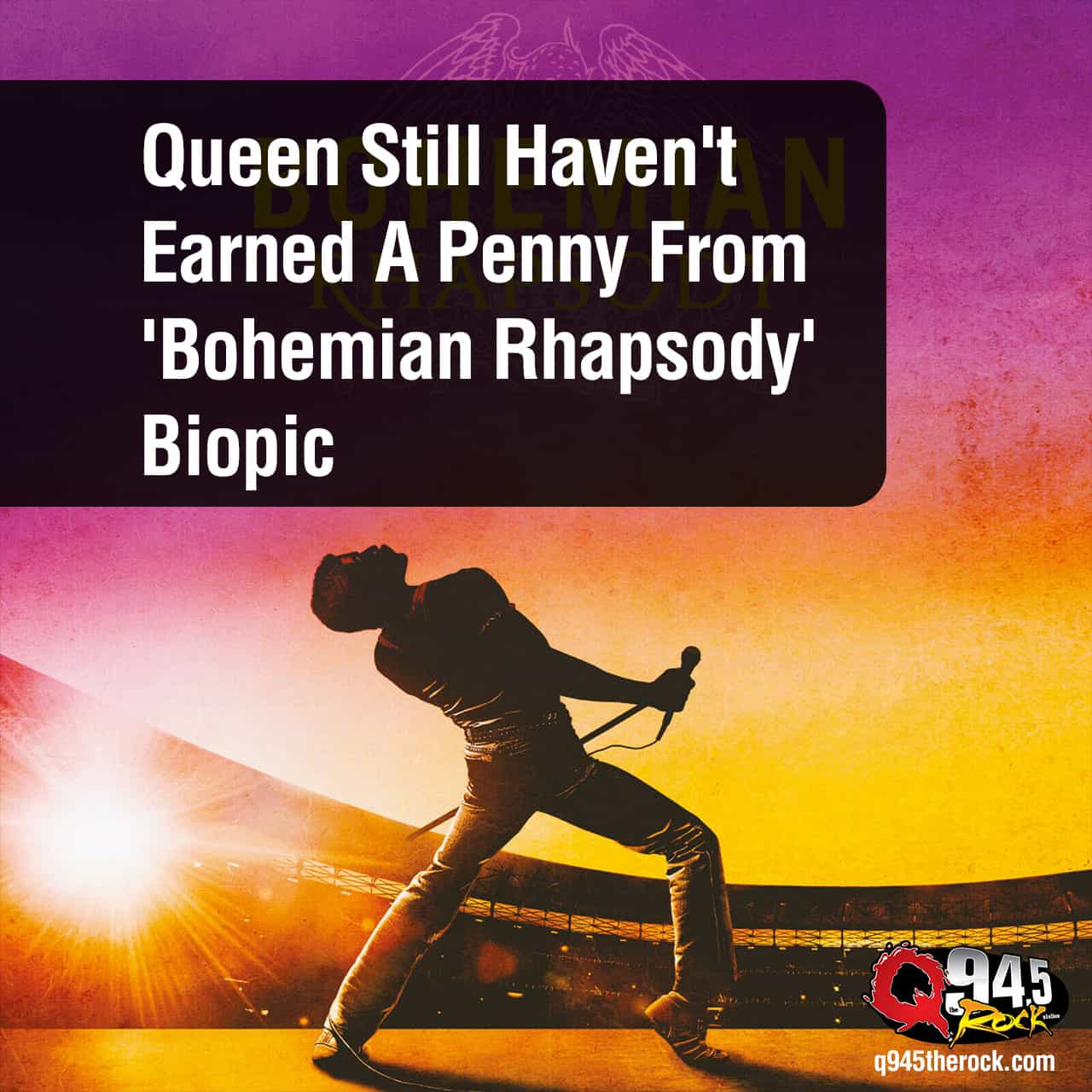 Queen Still Haven't Earned A Penny From 'Bohemian Rhapsody' Biopic