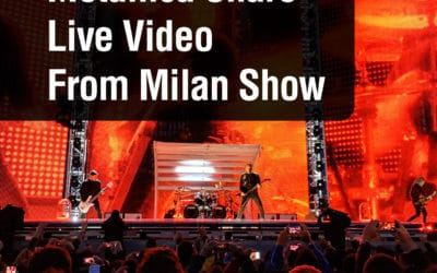Metallica Share Live Video From Milan Show