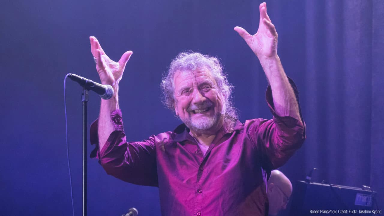 Led Zeppelin frontman Robert Plant