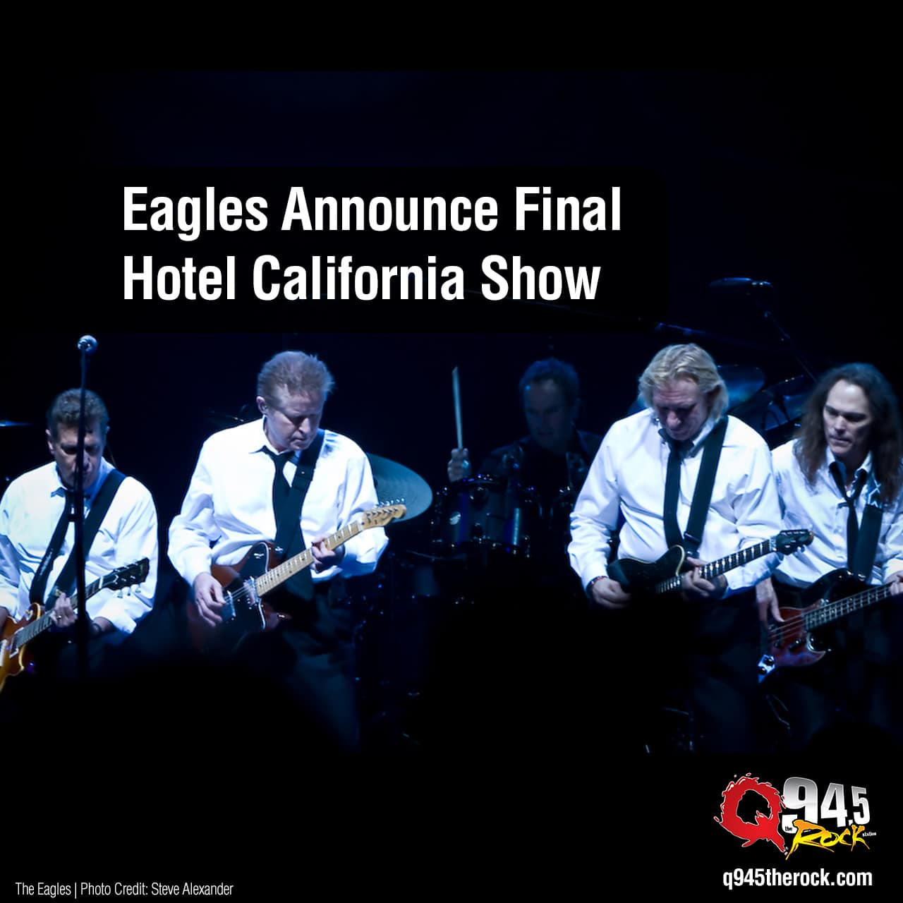 Eagles Announce Final Hotel California Show