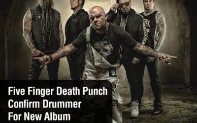 Five Finger Death Punch Confirm Drummer For New Album