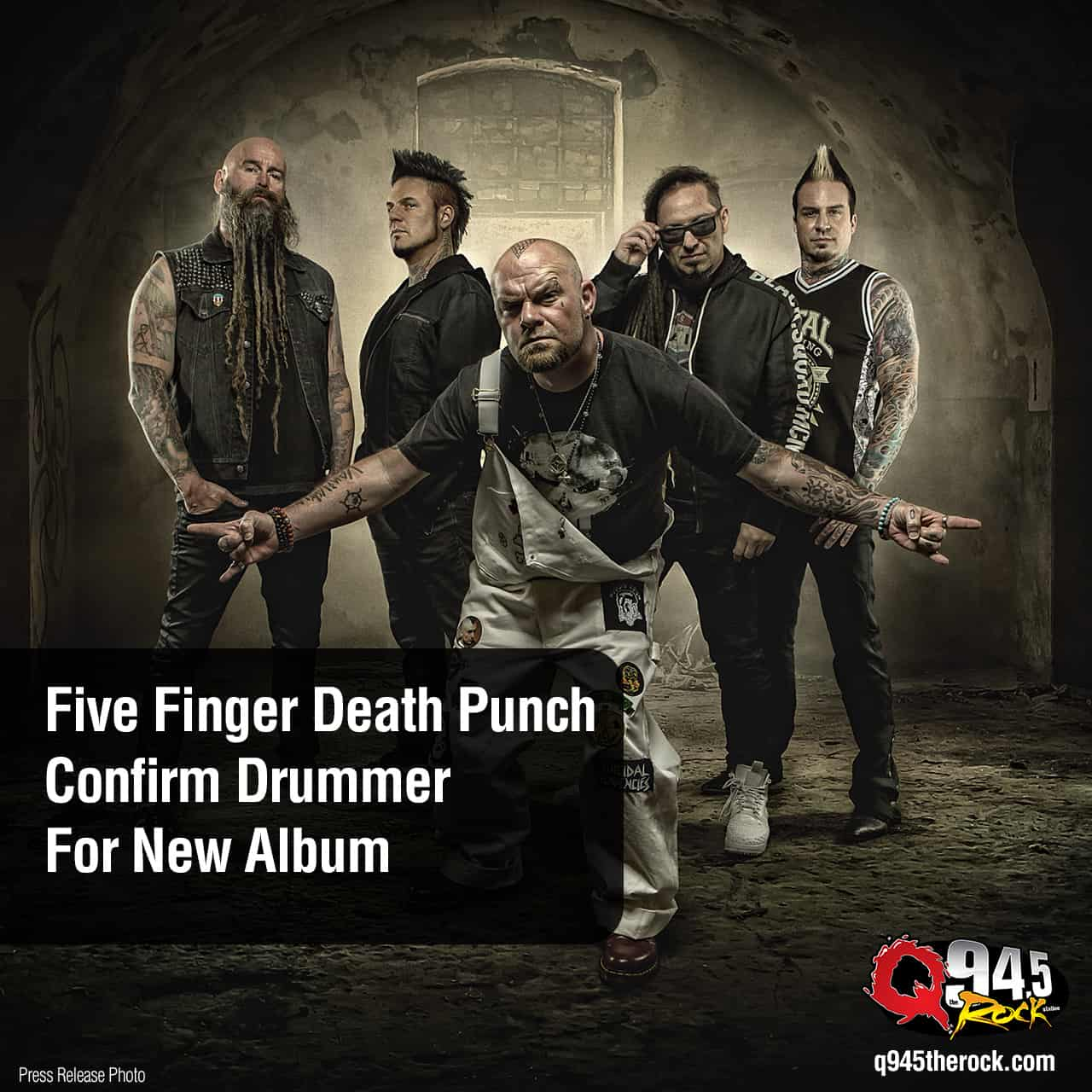 Five Finger Death Punch Confirm Drummer For New Album