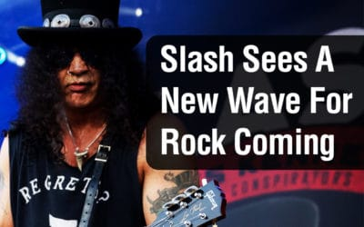 Slash (GNR) Sees A New Wave For Rock Coming