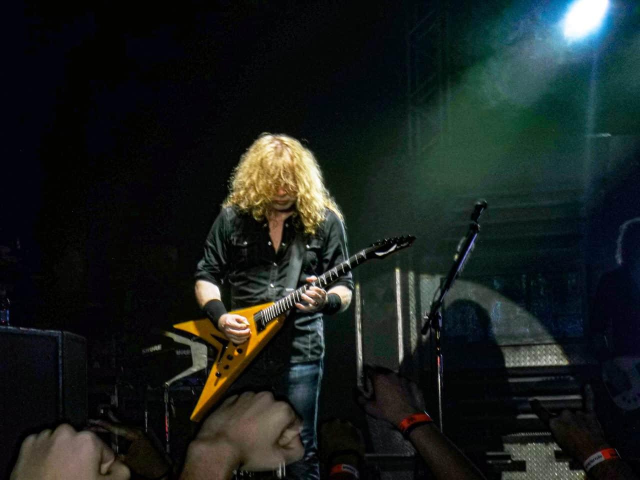 Dave Mustaine Show em Curitiba | Photo Credit: Jhonesilverio