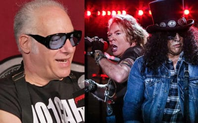 """Andrew """"Dice"""" Clay Says He Got Guns N' Roses Back Together"""