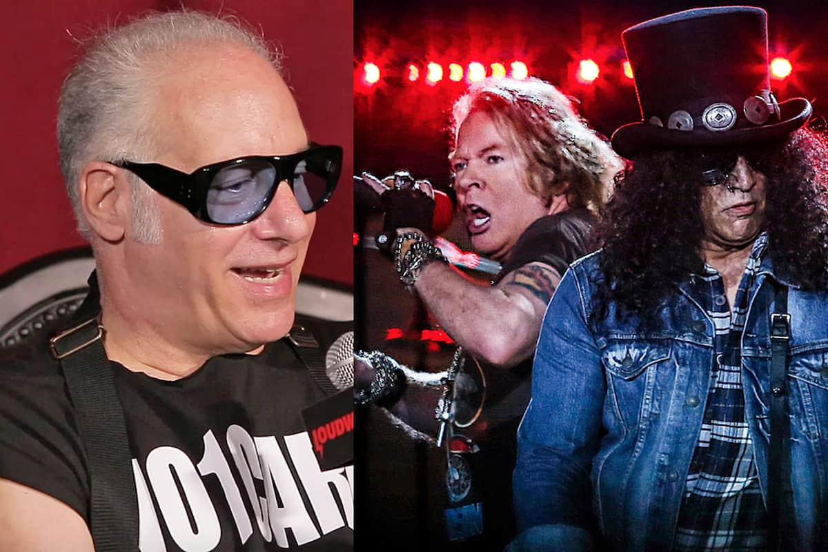 "Andrew ""Dice"" Clay Says He Got Guns N' Roses Back Together"