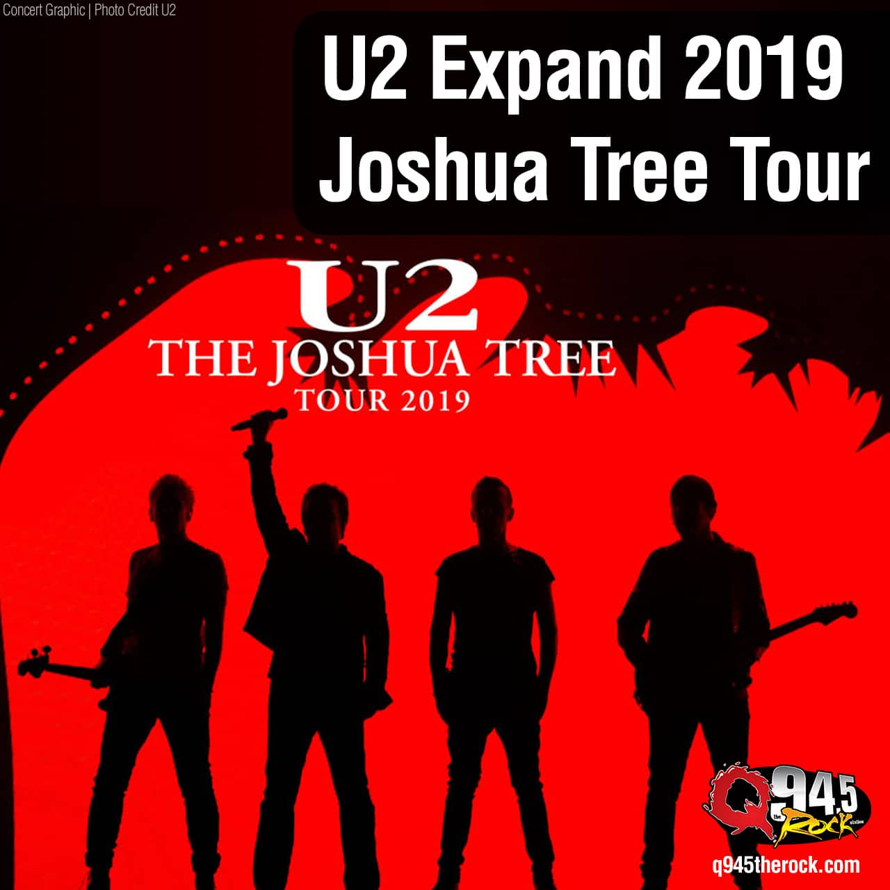 U2 Expand 2019 Joshua Tree Tour