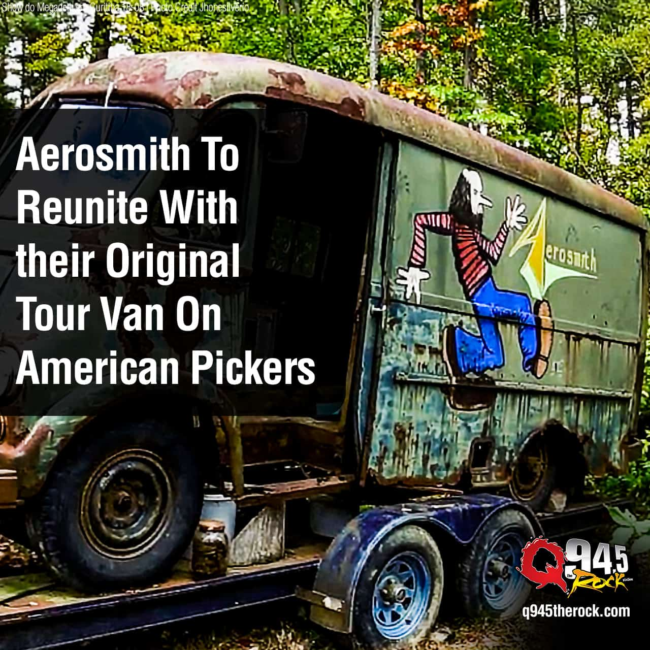 Aerosmith To Reunite With their Original Tour Van On American Pickers