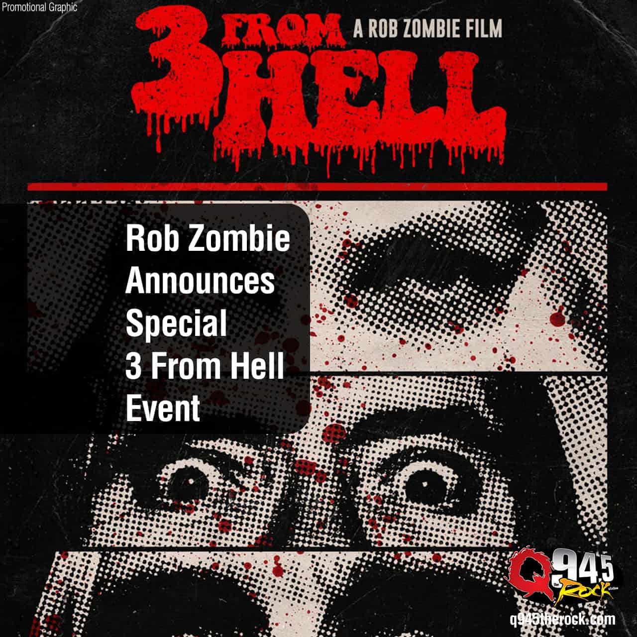 Rob Zombie Announces Special 3 From Hell Event
