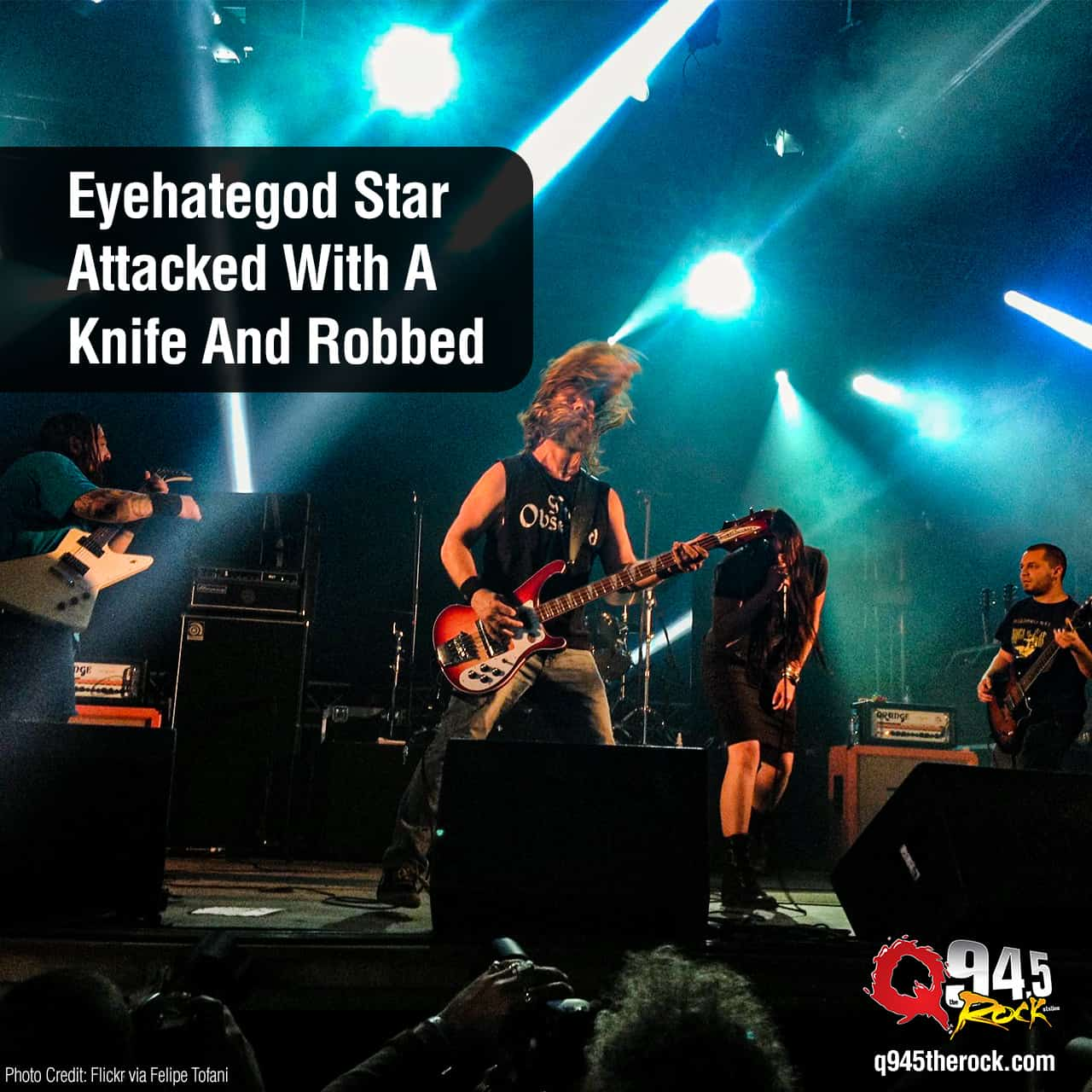 Eyehategod Star Attacked With A Knife And Robbed