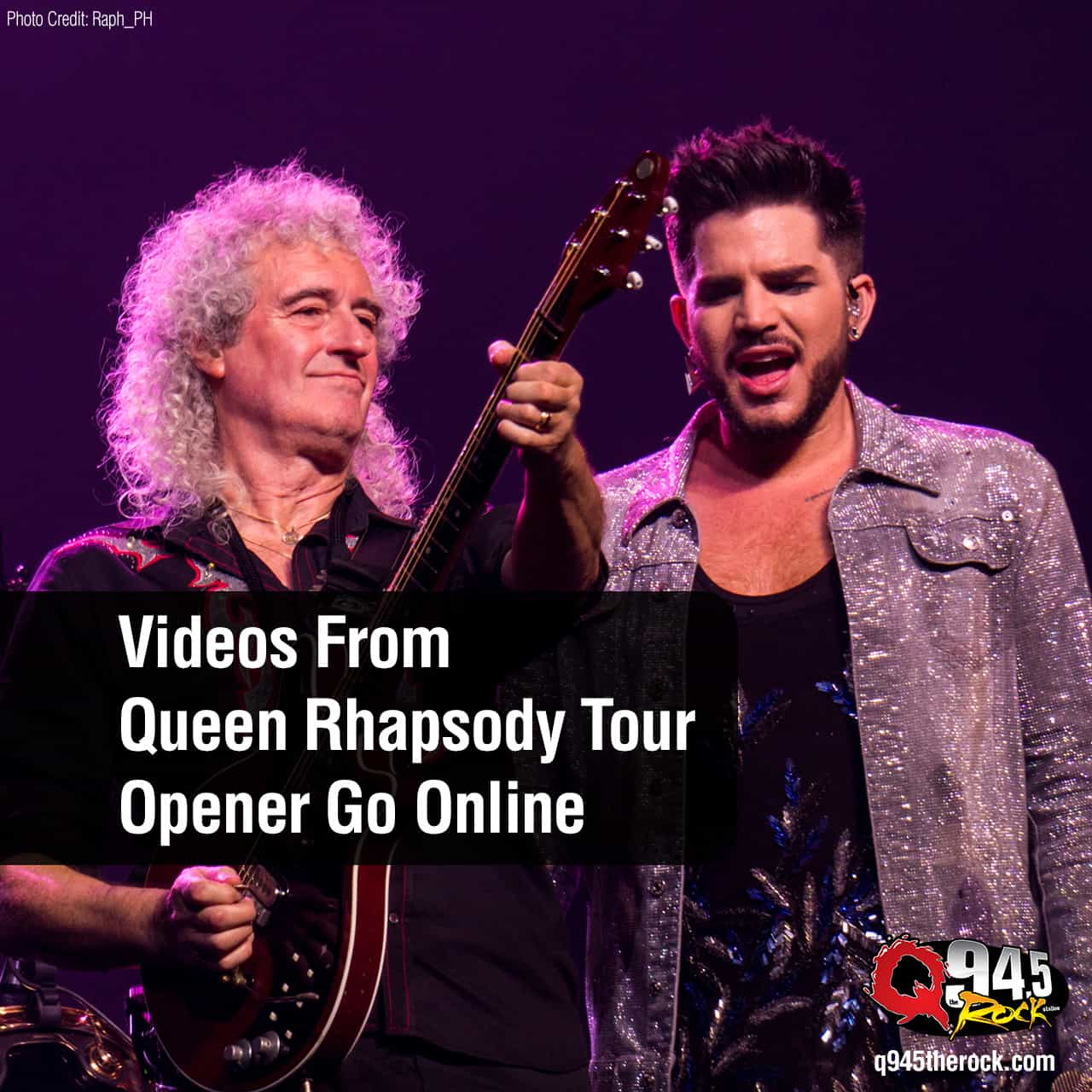 Video From Queen Rhapsody Tour Opener Goes Online
