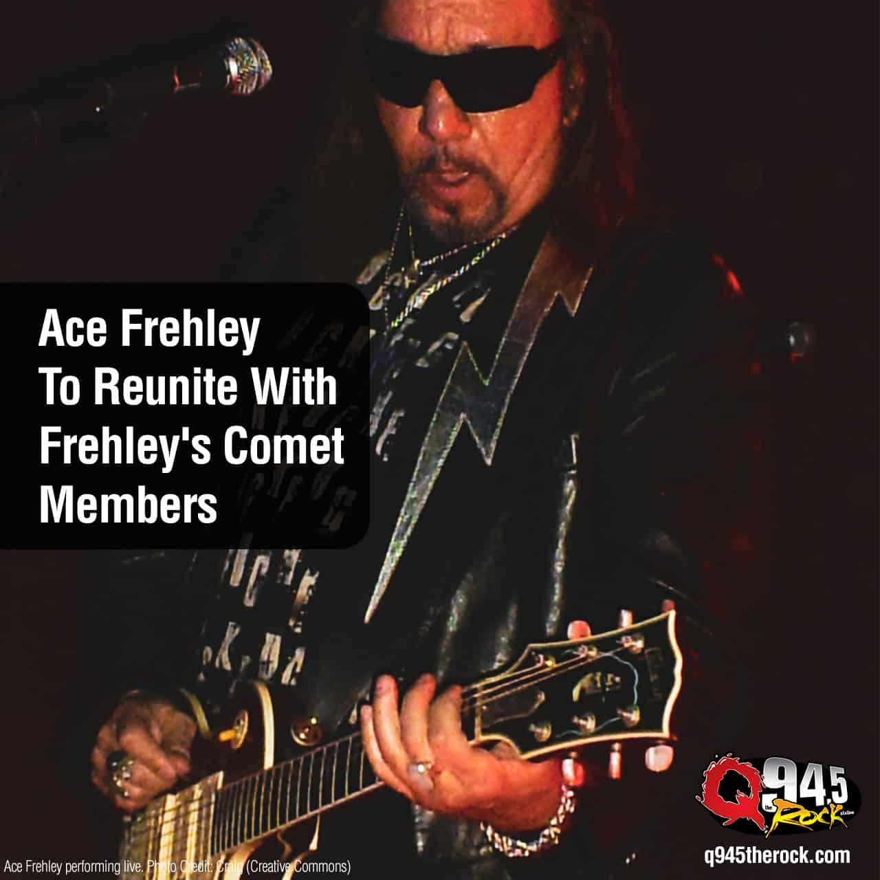 Ace Frehley To Reunite With Frehley's Comet Members