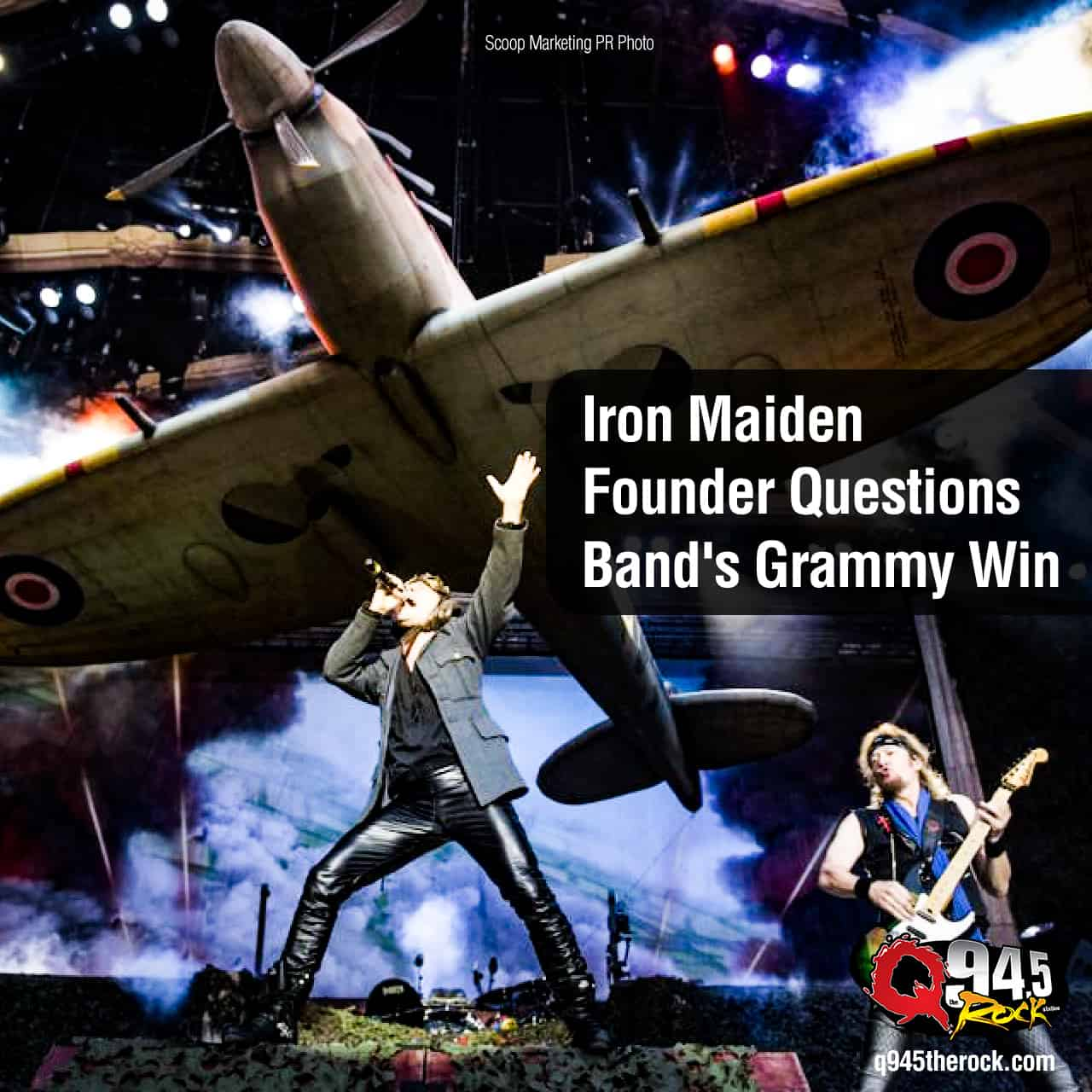Iron Maiden Founder Questions Band's Grammy Win