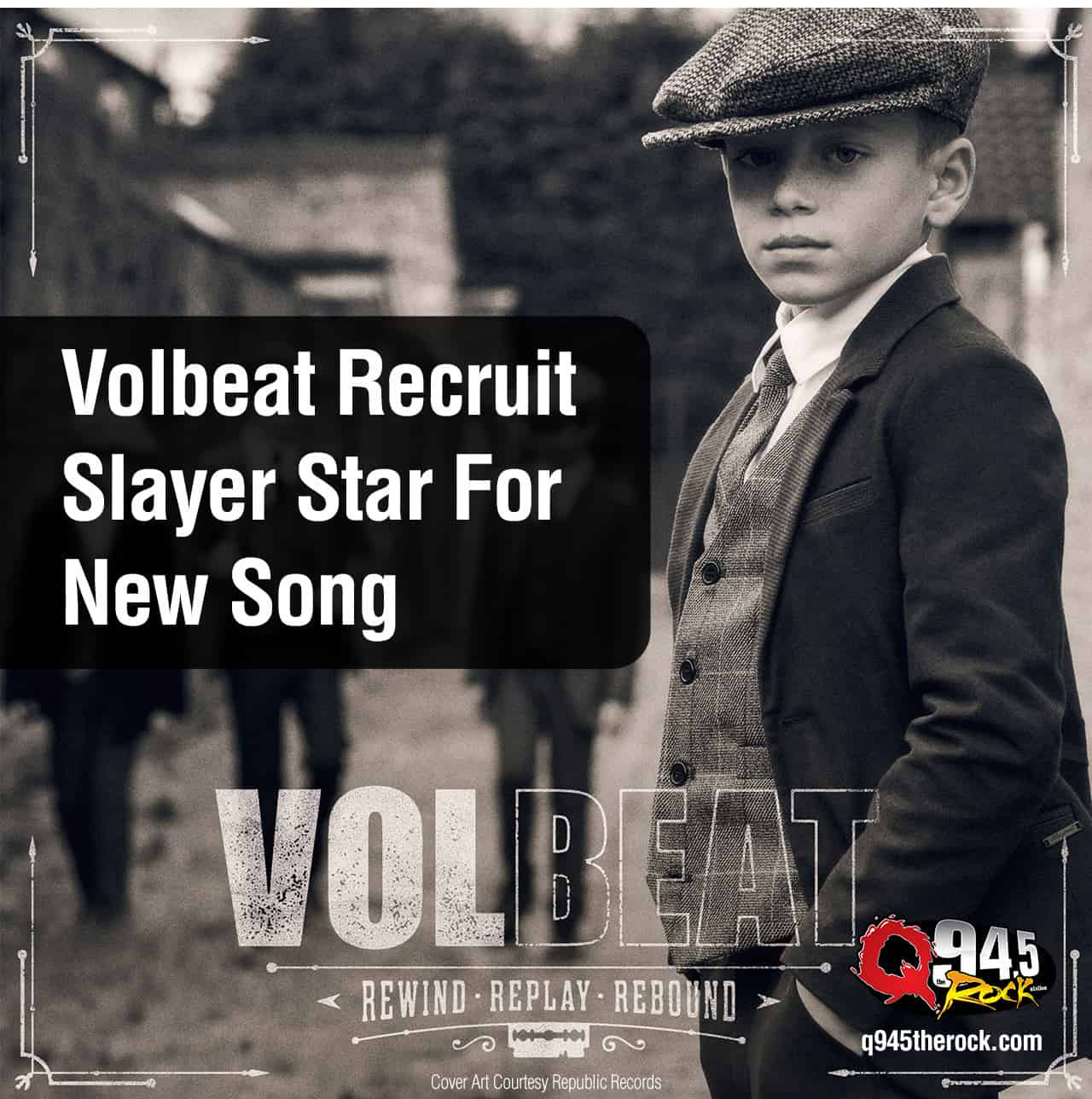 Volbeat Recruit Slayer Star For New Song – Video