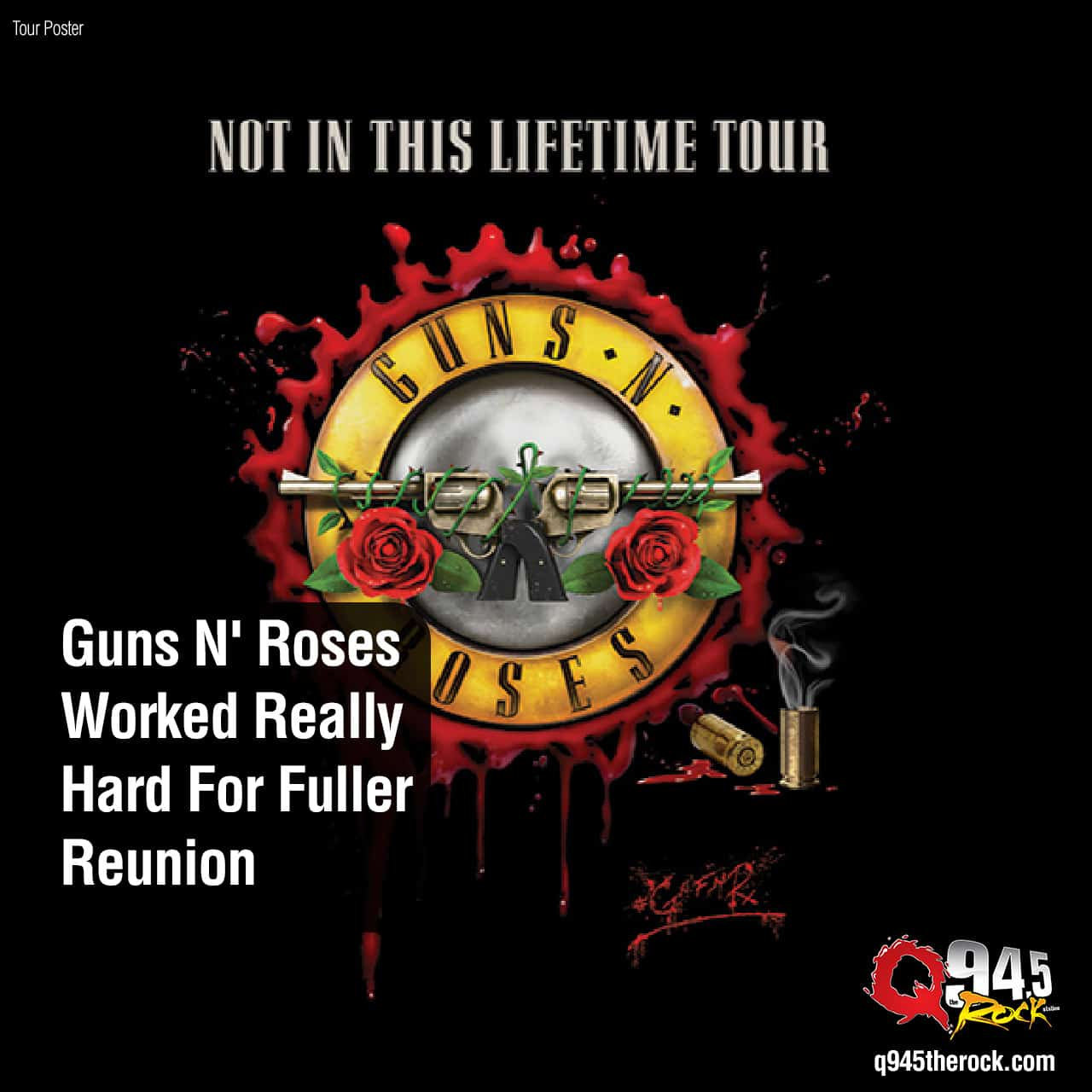 Guns N' Roses Worked Really Hard For Fuller Reunion